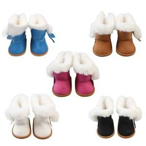 Fashion-Plush-Velvet-Boots-Shoes-for-18-Inch-Girl-American-Doll-Our-Generation