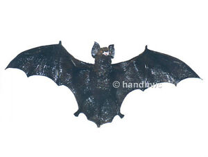 AAA-96510-Black-Bat-Model-Toy-Figurine-Replica-Halloween-Prop-NIP