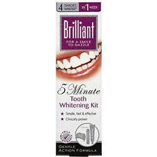 Brillante 5 minuti con i denti kit di sbiancamento