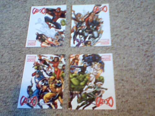 Avengers VS X-Men Postcard Set NYCC 2012 New York Comic Con 2012