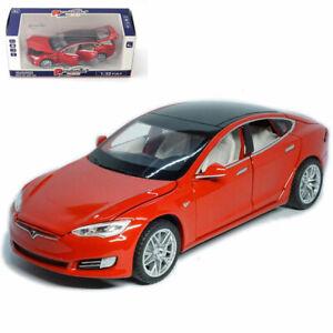 1:32 Tesla Model S 100D Diecast Model Car Toy Sound/&Light Collection Pull Back