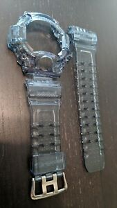 For-G-shock-Rangeman-gw9400-grey-jelly-bezel-and-strap