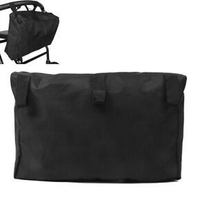 Rollstuhl-Tasche-fuer-Armlehne-Zubehoer-Aufbewahrung-Handtasche-Schwarz