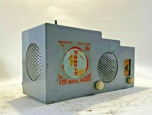 hotel coin operated radio
