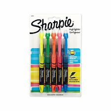 Sharpie Accent Liquid Pen Style Highlighter, Chisel Tip, Assorted, Pack of 5