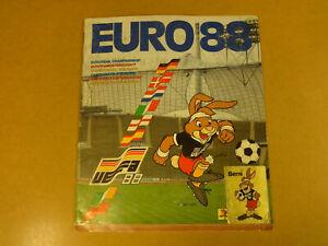 OFFICIAL-STICKER-ALBUM-PANINI-COMPLETE-UEFA-EURO-039-88-1988