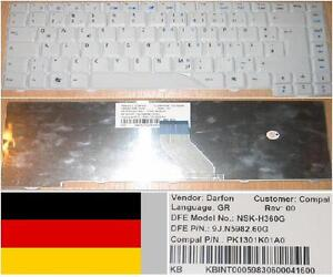 Clavier-Qwertz-Allemand-ACER-AS4710-NSK-H360G-KB-INT00-059-9J-N5982-60G-Neu