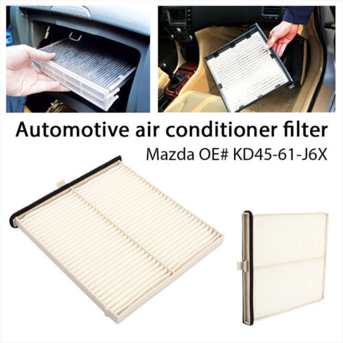 KD45-61-J6X Cabin Air Filter Cleaner for Mazda 3 14-17// 6 13-17// CX-5 12-17 MU