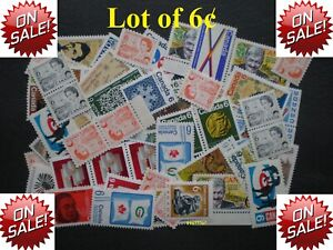 Lot-of-100-x-6-Vintage-Stamps-Mint-with-FULL-Gum-99-postage-Canada