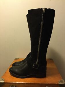 cade4a28e3ef Circus by Sam Edelman Women s Perry Knee High Boot Black Leather ...