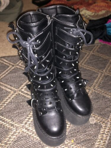 Demonia Platform Boots Gothic