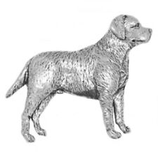 Labrador/'s Head Dog Pewter Lapel Pin Badge XTSPBA04