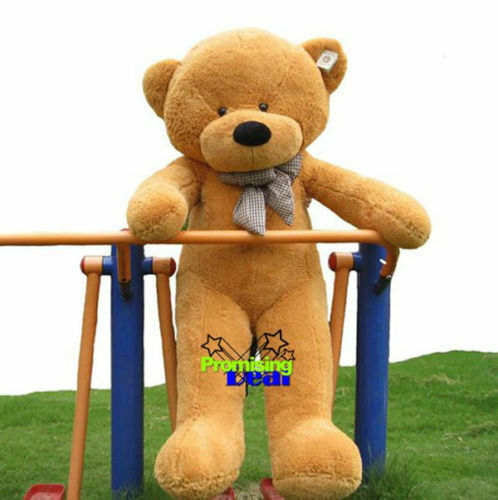 Giant 62.99in Big Teddy Bear Plush Soft Toys Doll Pillow Stuffed Animals Gift US