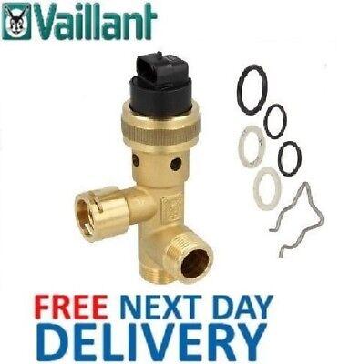 VAILLANT AQUA PLUS VUI 362-7 /& 362-7 R3 DIVERTER VALVE 252457 COMPATIBLE NEW