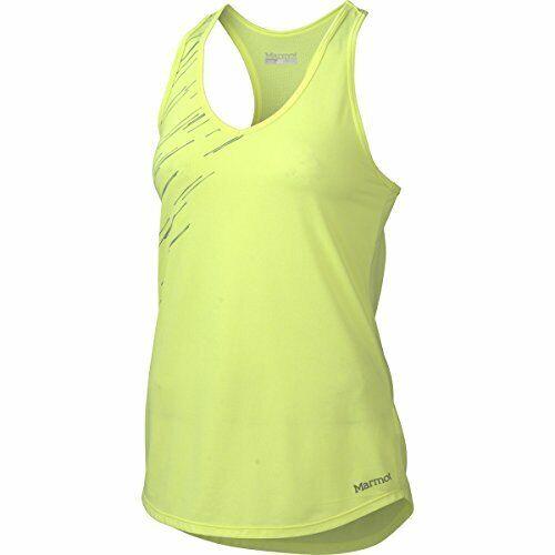 Hyper Yellow Heather XL Marmot Women/'s Layer Up Tank