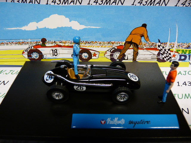 MV12R MV12R MV12R voiture altaya IXO 1 43 diorama BD comics MICHEL VAILLANT   Mystère n°12  gran descuento