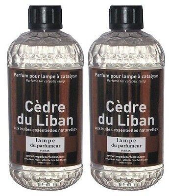 2 PARFUM INTERIEUR CEDRE LIBAN LAMPE DIFFUSEUR CATALYSE aux huiles essentielles | eBay