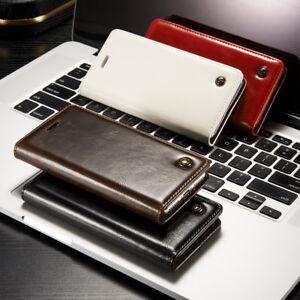 Fuer-Samsung-Galaxy-Huelle-Cover-Book-Case-Tasche-Handy-Etui-Leder-Synthetisch