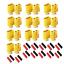 XT60-Goldstecker-Lipo-Akku-Stecker-Buchse-Schrumpfschlauch-1-2-3-4-5-10-20-60A Indexbild 1