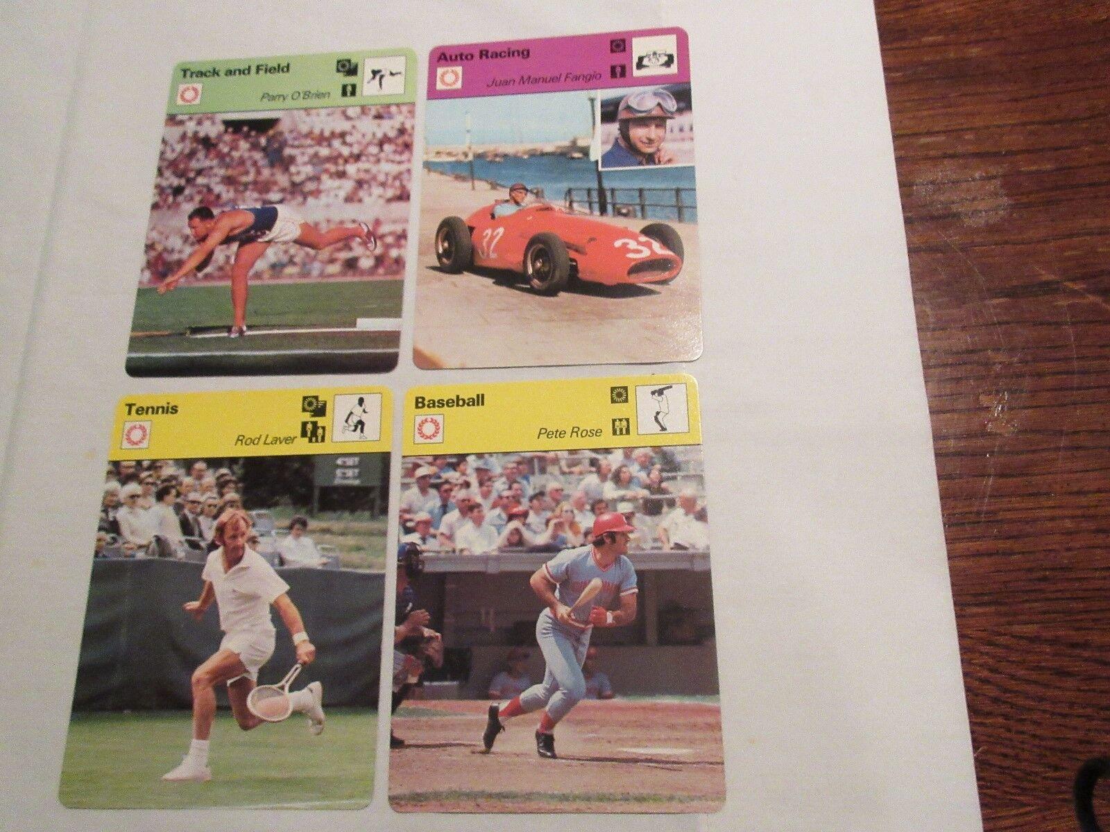 Sportscaster Cards 1978 ,Deck # 08 , Cards # 1-24 , Roc
