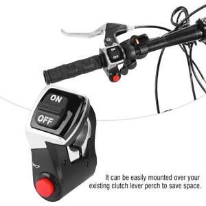 WUXING Head Light Switch 22.2mm Handlebar E-Bike Razor Scooter Motorcycle Ebike
