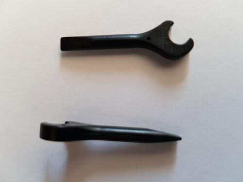 für Minifigur LEGO® 5 x 4006 Werkzeug Schraubenschlüssel schwarz 400626 #LB
