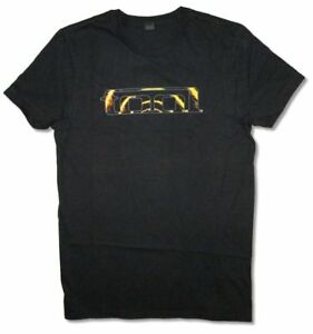 TOOL-Lateralus-Flames-Spiral-LA-CA-Black-T-Shirt-New-Official-Band-Merch