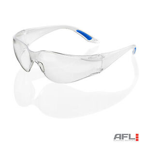 B-Brand-Vegas-Wraparound-Clear-Lens-Safety-Glasses-Impact-amp-Scratch-Resistant
