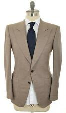 Tom Ford Peak Lapel Sport Coat Blazer Jacket 48 38 Brown 14SC0111 $3900