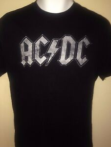 AC-DC-DISTRESSED-OFFICIAL-MEDIUM-T-SHIRT-ROCK-OUT-OF-PRINT-METAL-2014