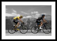 Chris Froome & Geraint Thomas 2015 Tour de France Spot Photo Memorabilia