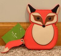 NWT Kate Spade Blaze A Trail Fox Coin Purse  WLRU 2560