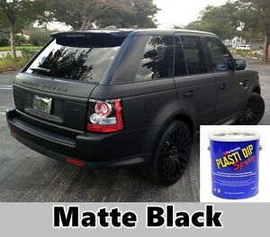 Details about Plasti Dip Matte Black 1 Gallon Ready to Spray Rubber Dip  Spray Rubber Coating
