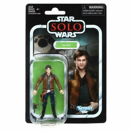 Star Wars The Vintage Collection Young Han Solo Solo Story Action Figure NEW