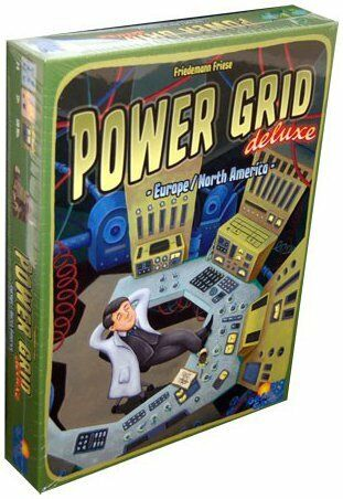 Power Grid: Deluxe Board Game Rio Grande Games BRAND NEW ABUGames