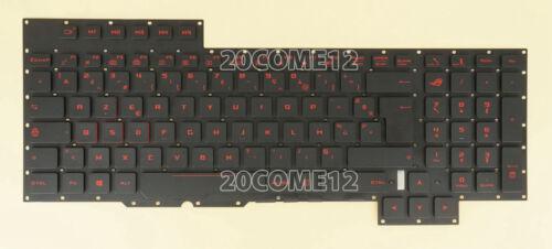 for ASUS G701V G701VO G701VI G701VIK KEYBOARD German Tastatur NO BACKLIT BOARD