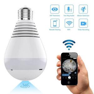 HD-1080P-360-Panoramic-Hidden-Wifi-IP-Camera-Light-Bulb-Home-Security-Lamp-Cam