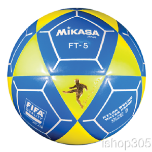927ab3ee3 Mikasa FT5 Goal Master Soccer Ball Size 5 Yellow/Blue Official ...