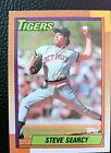 1990 Topps Steve Searcy #487 Baseball Card