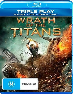 Wrath of the Titans (Blu-ray/DVD) (Brand New & Sealed) (Australian Release)