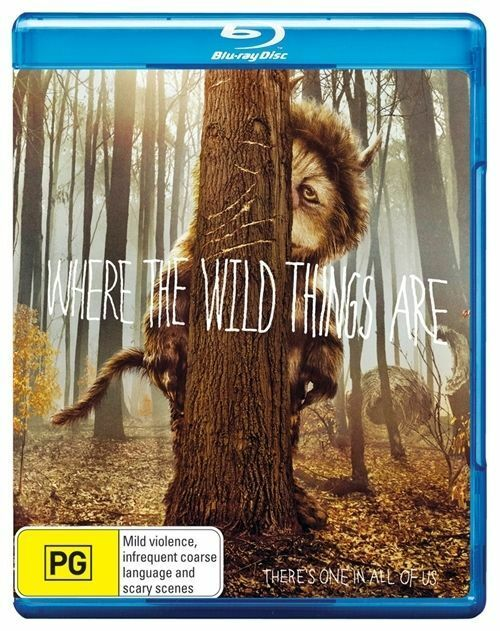 Where The Wild Things Are (Blu-ray, 2010)