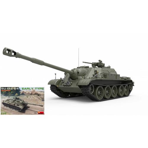 SU-122-54 KIT EARLY TYPE KIT SU-122-54 1 35 Miniart Kit Mezzi Militari Die Cast Modellino 769061