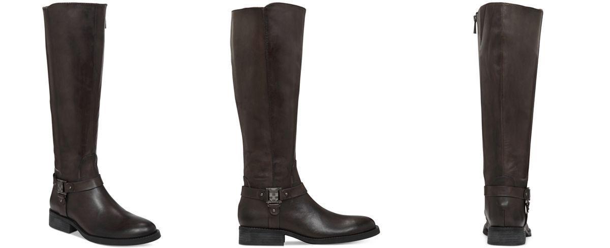 rivenditori online Vince Camuto Farren2 High stivali WIDE CALF Daveys grigio grigio grigio Dimensione 7M WC  all'ingrosso economico e di alta qualità