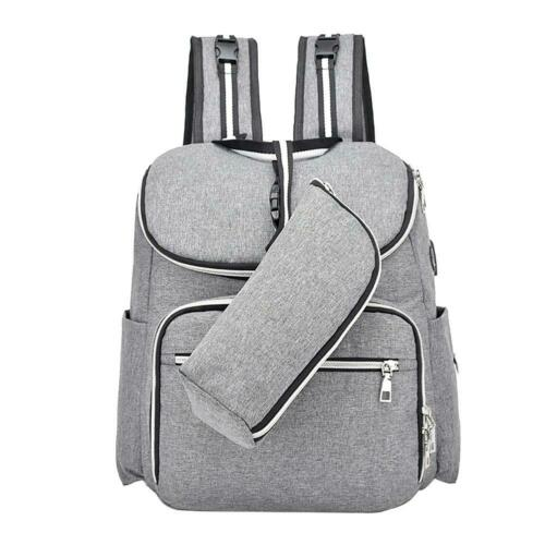 Baby Diaper Bag Backpack Waterproof Mummy Maternity Large Capacity Travel Bags