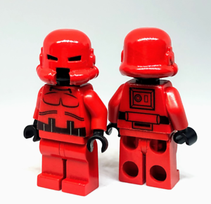 Droidworld Imperial Stormtrooper Prototype Minifigure Custom Made W Lego Bricks