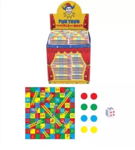 6x Mini Snakes /& Ladders Games Pocket Money Loot Bag Pinata Toys UK Seller