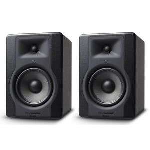 2-x-M-Audio-BX5-D3-5-034-200W-Active-Powered-Studio-Monitor-Speaker-Band-Producer