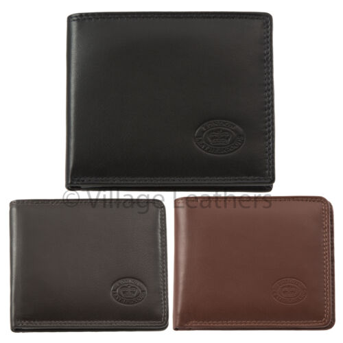 Premium Quality London Leather Goods Card and Note Wallet