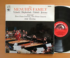 ALP 2280 The Menuhin Family Mozart Three Piano Concerto 1966 EMI Mono EX/VG