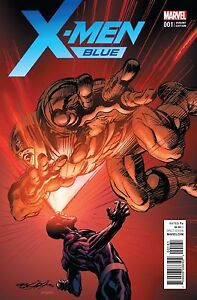 X-MEN BLUE #1 1:25 NEAL ADAMS VARIANT COVER NM- OR BETTER!